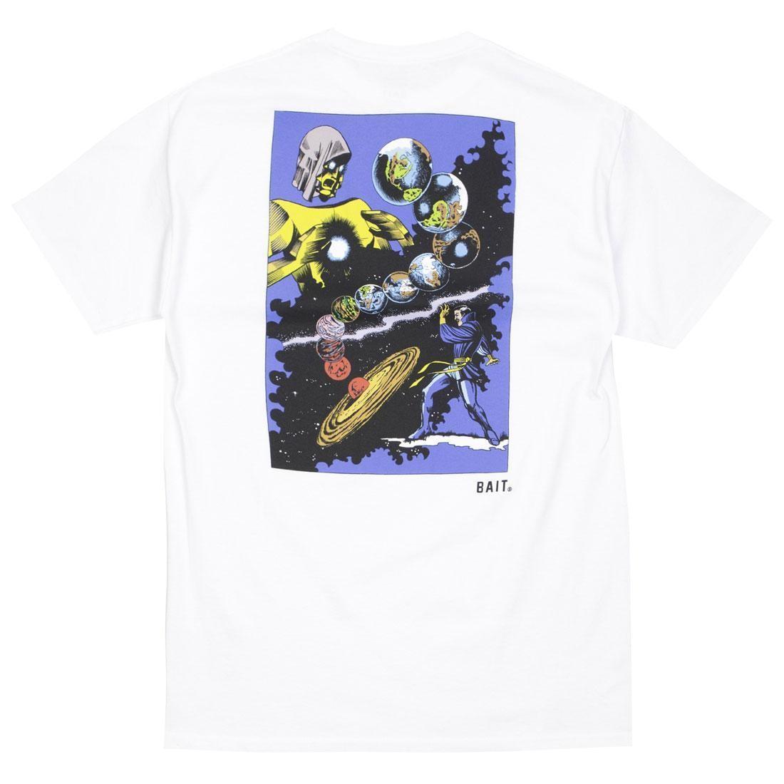 ベイト BAIT コミックス Tシャツ 白 ホワイト 【 WHITE BAIT X MARVEL COMICS MEN DR STRANGE TEE 】 メンズファッション トップス Tシャツ カットソー