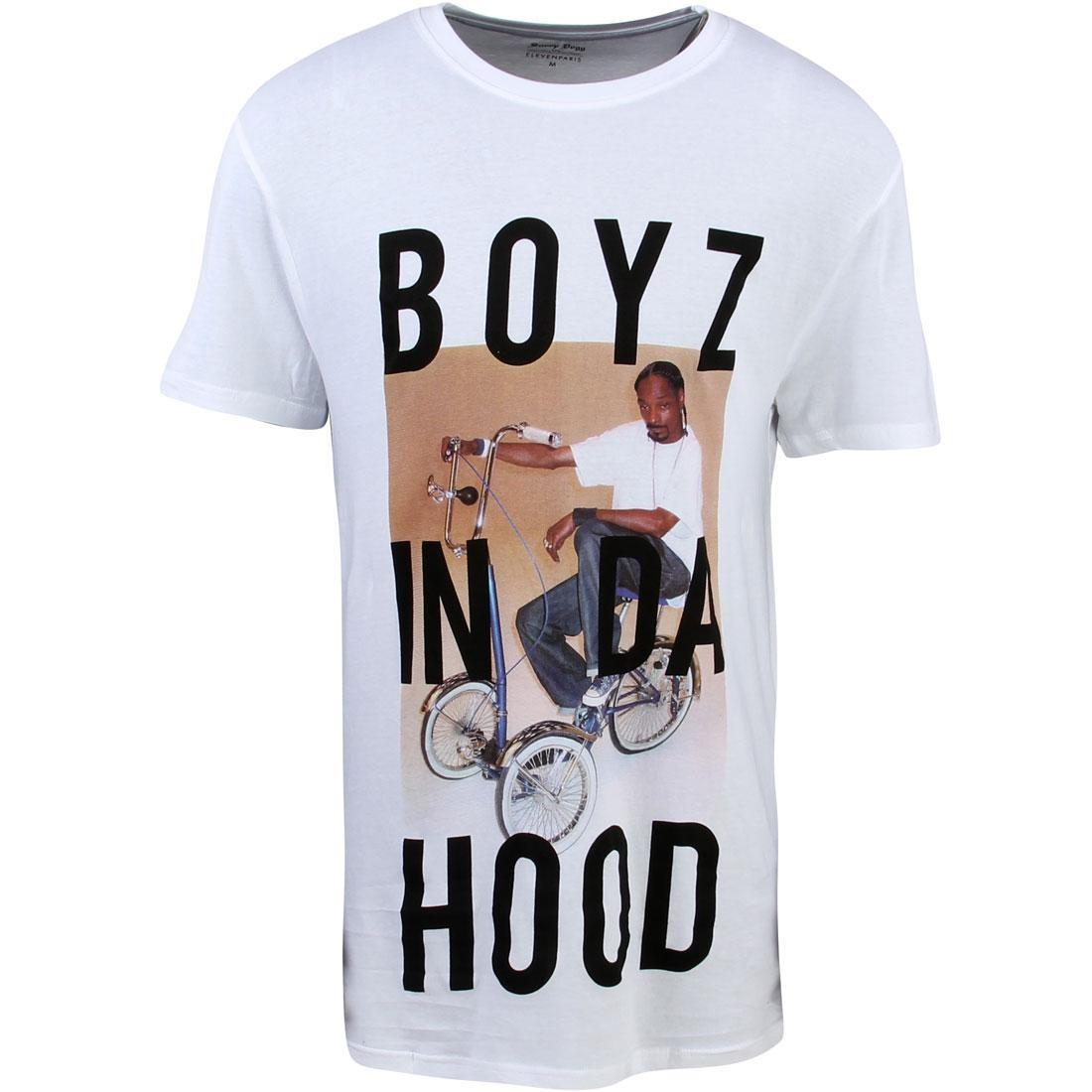 Tシャツ 【 ELEVEN PARIS X SNOOP DOGG MEN BOYZ BONOP TEE WHITE 】 メンズファッション トップス カットソー