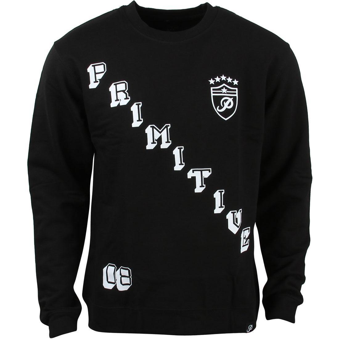 メンズファッション トップス Tシャツ カットソー メンズ 【 Primitive Men Great One Crewneck Sweater (black) 】 Black
