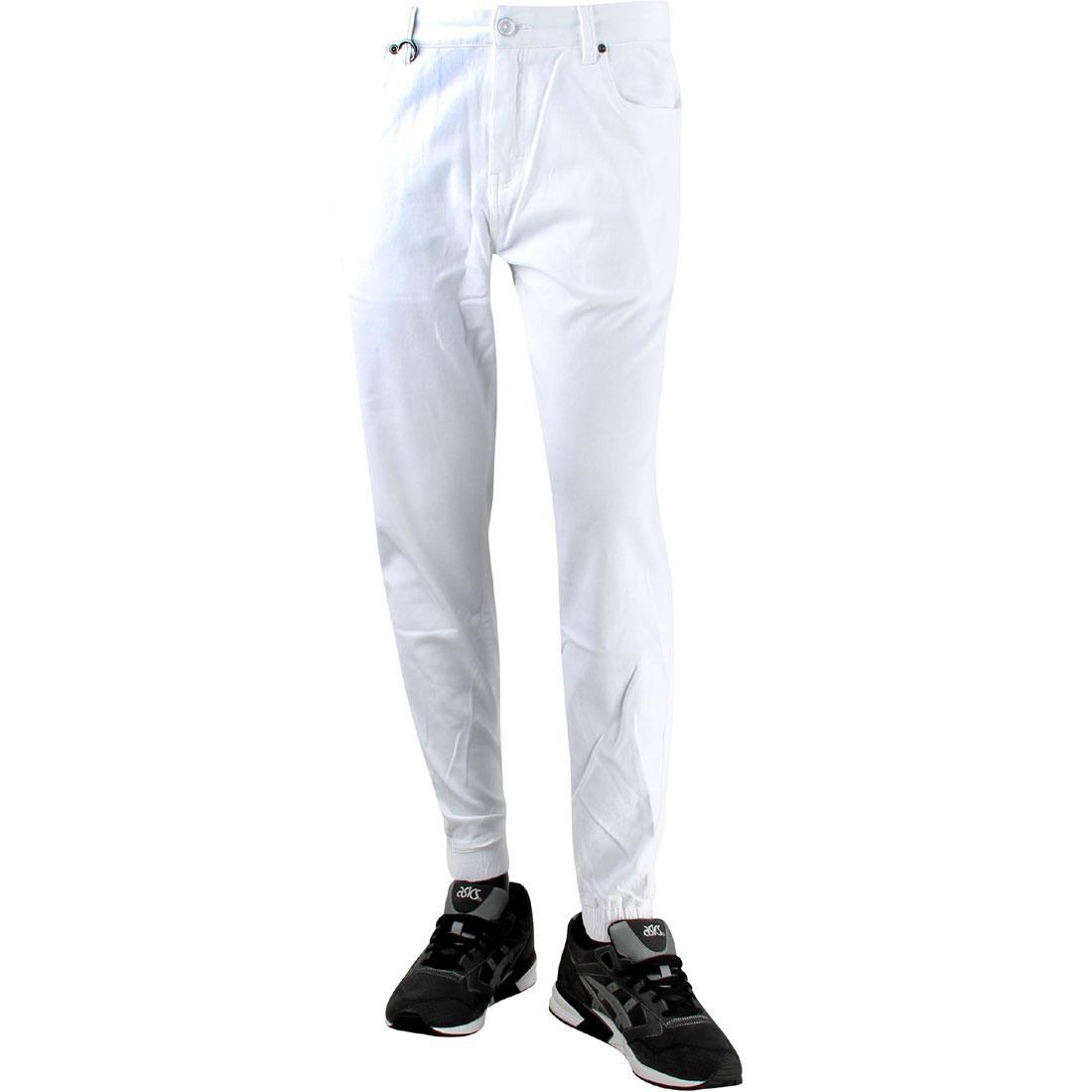 パブリッシュ ジョガーパンツ メンズファッション ズボン パンツ メンズ 【 Publish Parkin Jogger Pants (white) 】 White