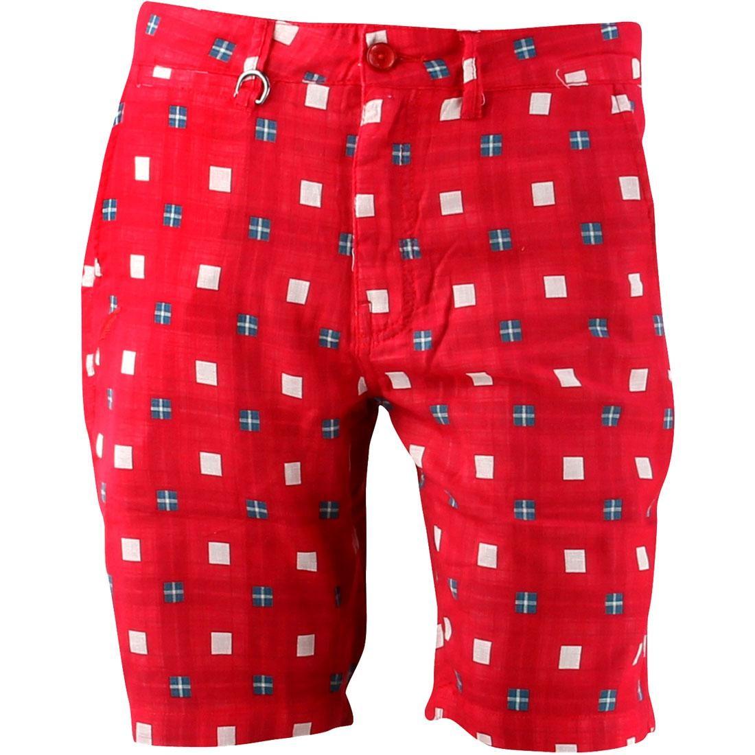 【海外限定】パブリッシュ ショーツ ハーフパンツ パンツ ズボン 【 PUBLISH JAGGER SHORTS RED 】