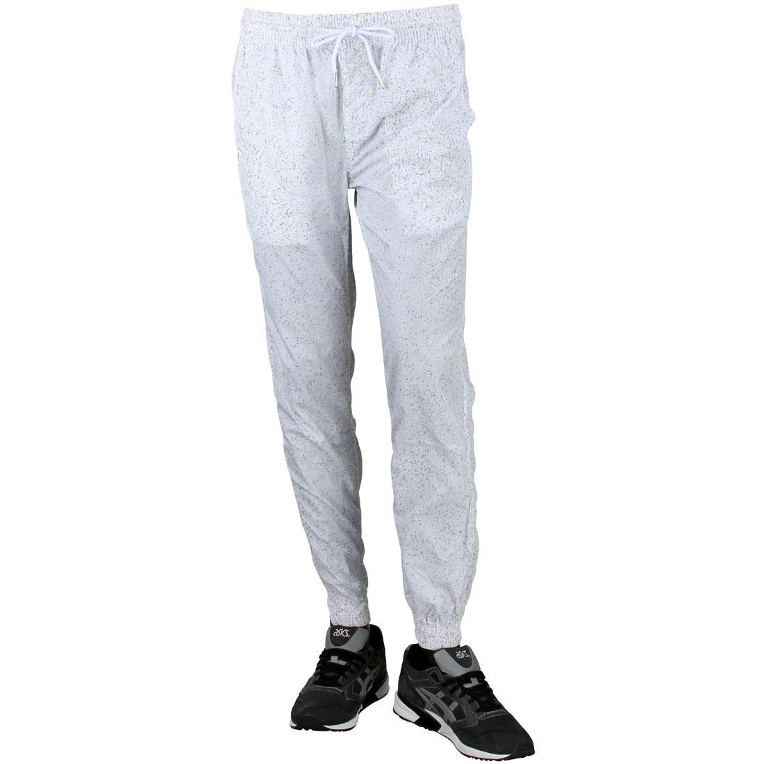 パブリッシュ ジョガーパンツ 【 PUBLISH MEN 3M SPECKLE JOGGER PANTS WHITE 】 メンズファッション ズボン パンツ 送料無料