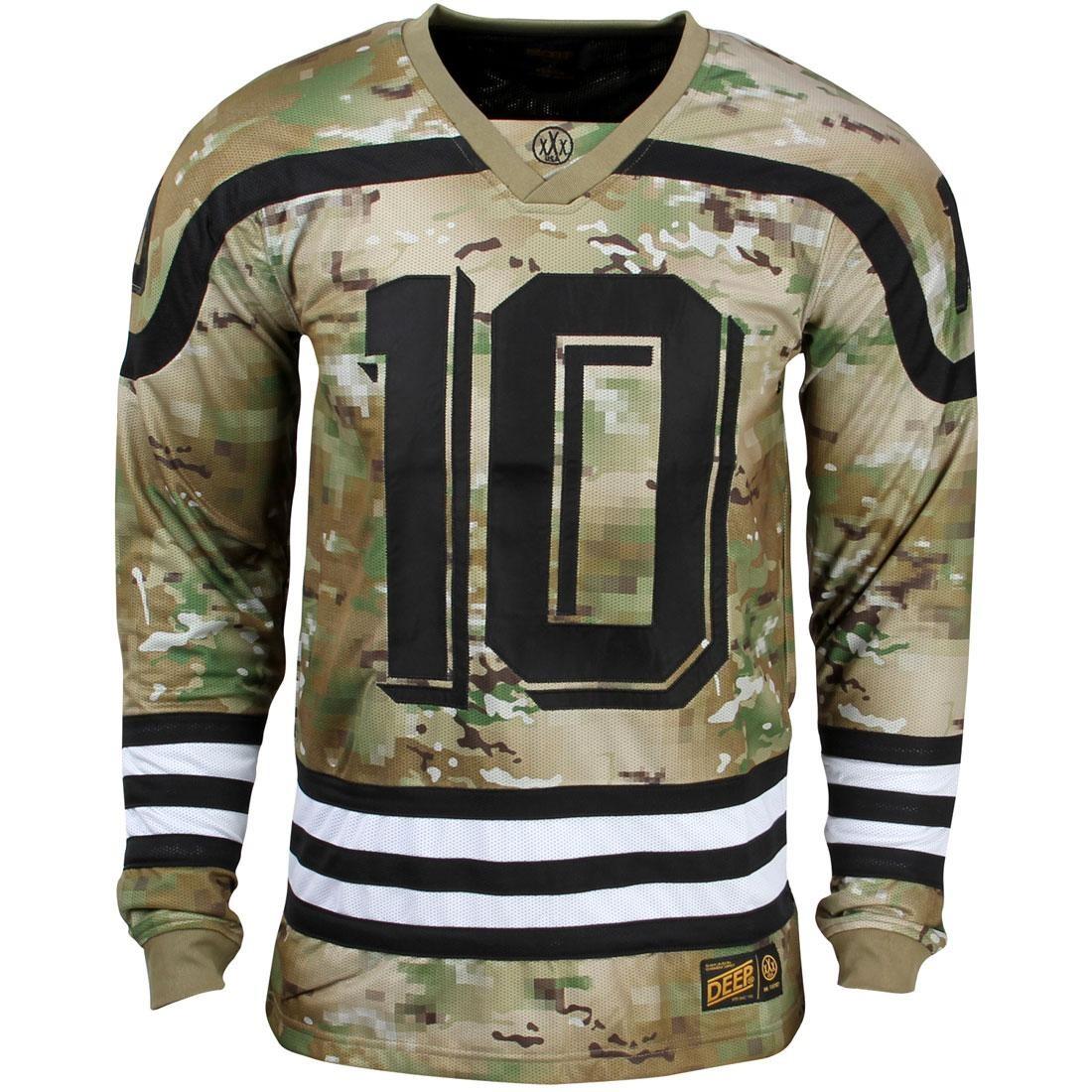 ディープ ジャージ 【 10 DEEP MEN BAZIK JERSEY SHIRT CAMO DIGITAL 】 メンズファッション トップス Tシャツ カットソー