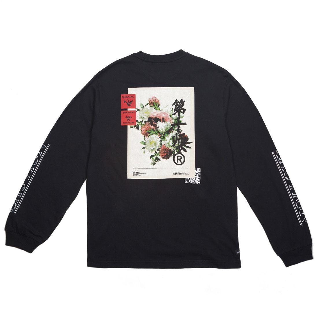 【海外限定】ディープ スリーブ Tシャツ 10 メンズファッション IN【 SLEEVE 10 SPITE DEEP MEN IN SPITE OF IT ALL LONG TEE BLACK】【送料無料】, MODESCAPE:2bc5f336 --- officewill.xsrv.jp
