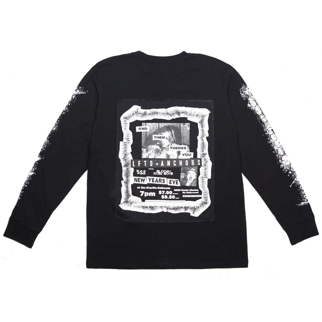 【海外限定】スリーブ LONG Tシャツ メンズファッション トップス】【送料無料】【 SLEEVE LIFTED SLEEVE ANCHORS MEN FLYER LONG TEE BLACK】【送料無料】, BORN FREE E-SHOP:87dcc757 --- officewill.xsrv.jp