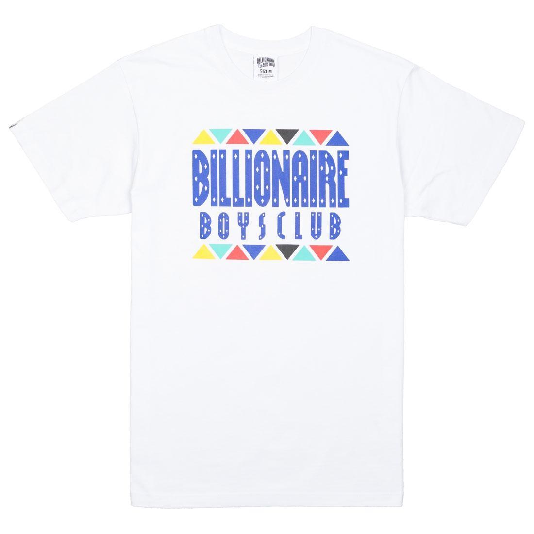ビリオネアボーイズクラブ BILLIONAIRE BOYS CLUB クラブ トライブ ニット Tシャツ 白 ホワイト 【 WHITE BILLIONAIRE BOYS CLUB MEN TRIBE KNIT TEE 】 メンズファッション トップス Tシャツ カットソー
