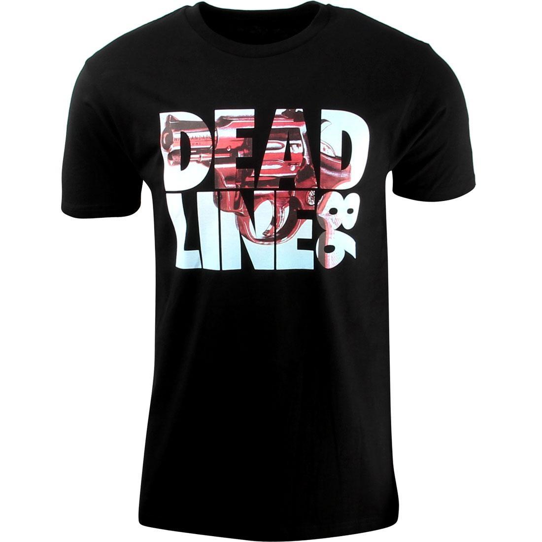 Tシャツ 黒 ブラック 【 BLACK DEADLINE 86 TEE 】 メンズファッション トップス Tシャツ カットソー