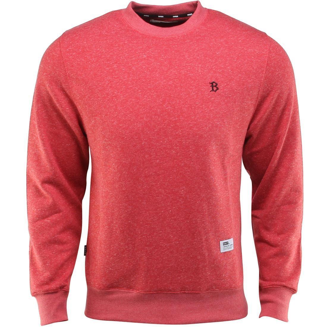 【海外限定】メンズファッション Tシャツ【 BAIT B Tシャツ LETTER CREWNECK】 INVISIBLE POCKETS FITTED CREWNECK RED】, まえだふとん店:78202cad --- officewill.xsrv.jp