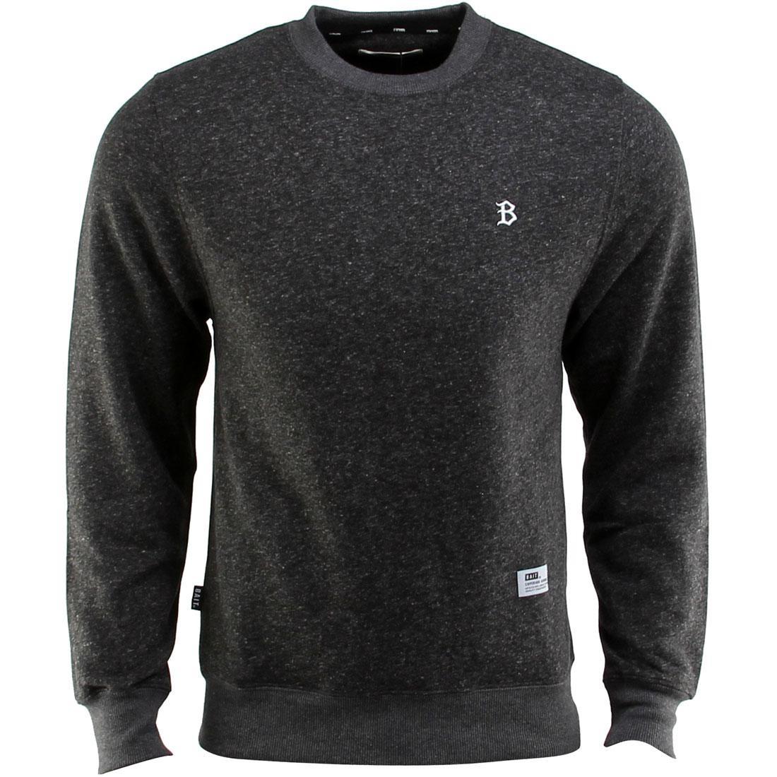 ベイト BAIT メンズファッション トップス Tシャツ カットソー メンズ 【 B Letter Invisible Pockets Fitted Crewneck (black) 】 Black