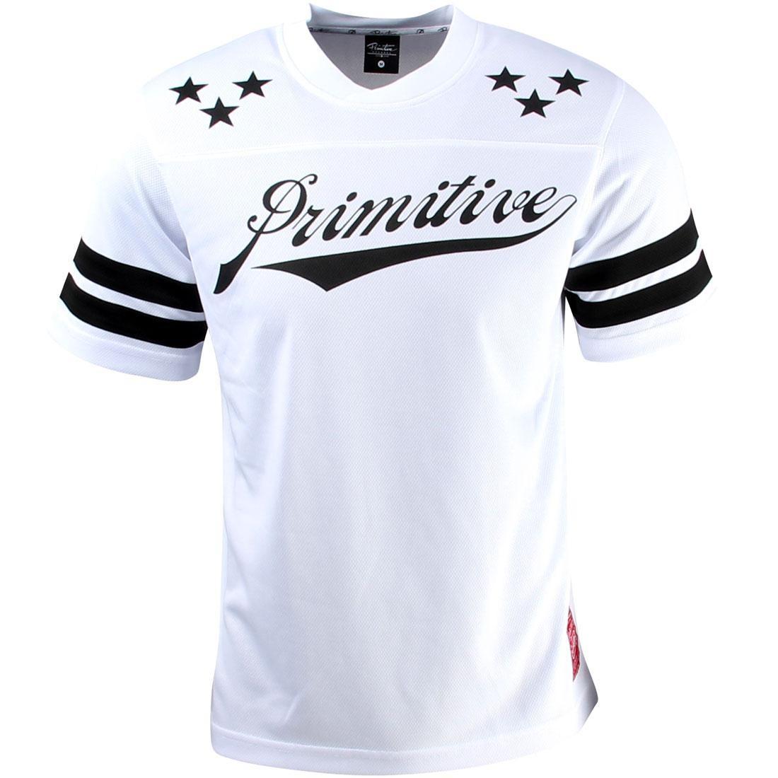 【海外限定】サッカー メンズファッション カジュアルシャツ 【 SOCCER PRIMITIVE ALL STAR SHIRT WHITE 】