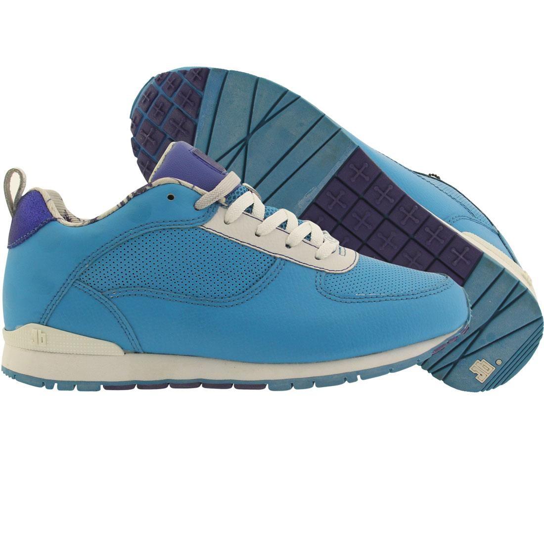 【海外限定】靴 スニーカー 【 JB CLASSICS SUB 40 CYANIDE CYAN SEABLUE WHITE 】