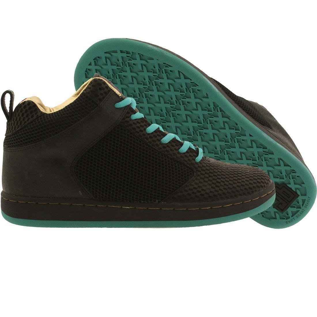 【海外限定】ミッド 黒 ブラック 靴 スニーカー 【 BLACK JB CLASSICS PEDDLER MID BRAINCHILD GRNC EBONY LASER 】