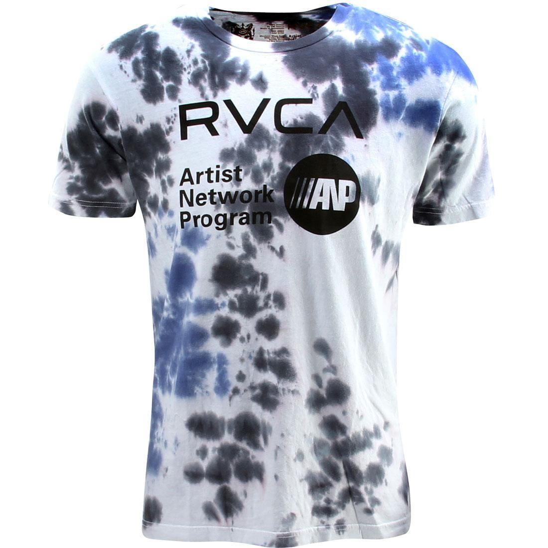 【海外限定】ルーカ Tシャツ トップス 【 RVCA ANP TIE DYE TEE BLACK 】