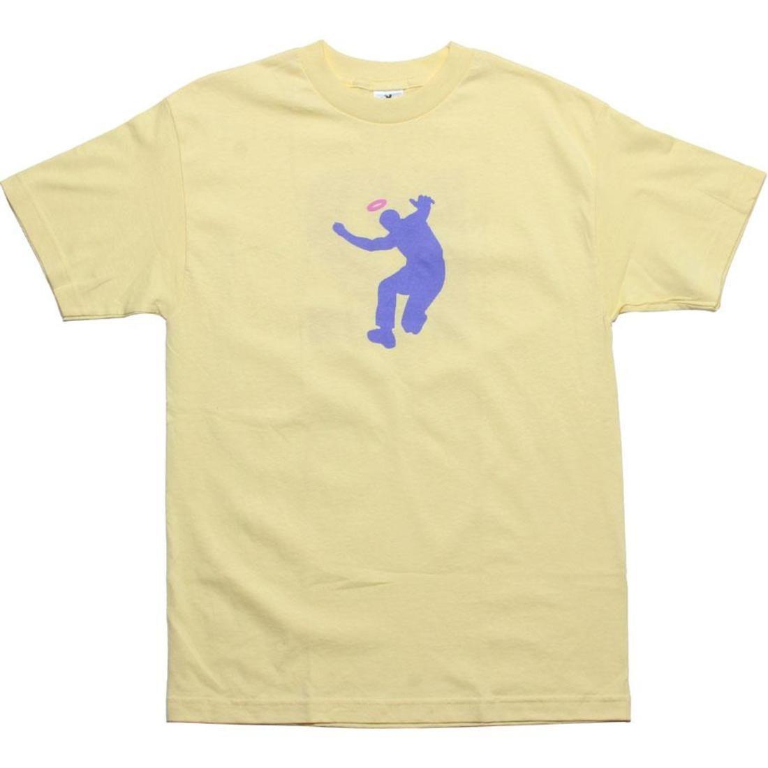 ユニオン ロゴ Tシャツ 紫 パープル 黄色 イエロー ピンク 【 UNION PURPLE YELLOW PINK LOGO TEE 】 メンズファッション トップス Tシャツ カットソー