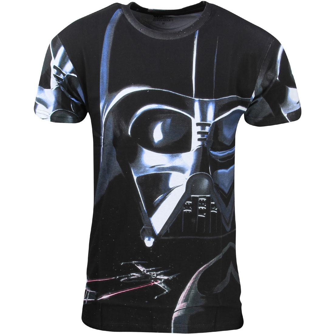 Tシャツ メンズファッション トップス カットソー メンズ 【 Eleven Paris X Star Wars Men Vader Staker Tee (black) 】 Black