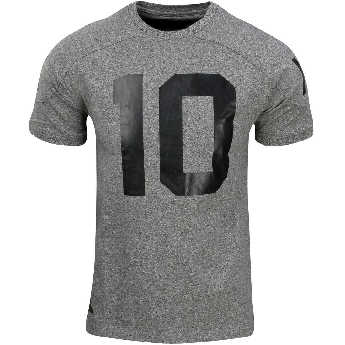 テンディープ 10 DEEP 茶 ブラウン ジャージ J. メンズファッション トップス Tシャツ カットソー メンズ 【 J. Brown Football Jersey (black / Marble) 】 Black / Marble