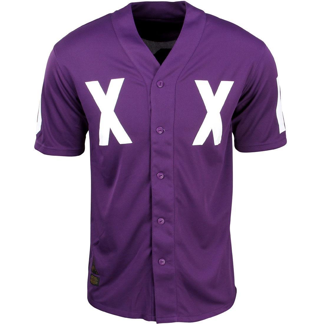 【スーパーセール中! 6/11深夜2時迄】テンディープ 10 DEEP ジャージ メンズファッション トップス Tシャツ カットソー メンズ 【 Dxxp Bb Jersey Shirt (purple) 】 Purple