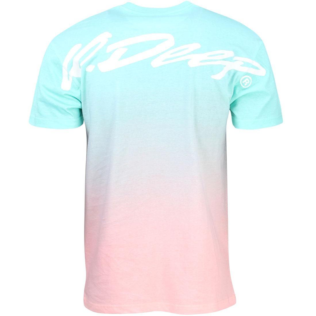 【NeaYearSALE1/1-1/5】ディープ Tシャツ 【 10 DEEP MEN S15 FADE AWAY TEE TEAL 】 メンズファッション トップス カットソー 送料無料