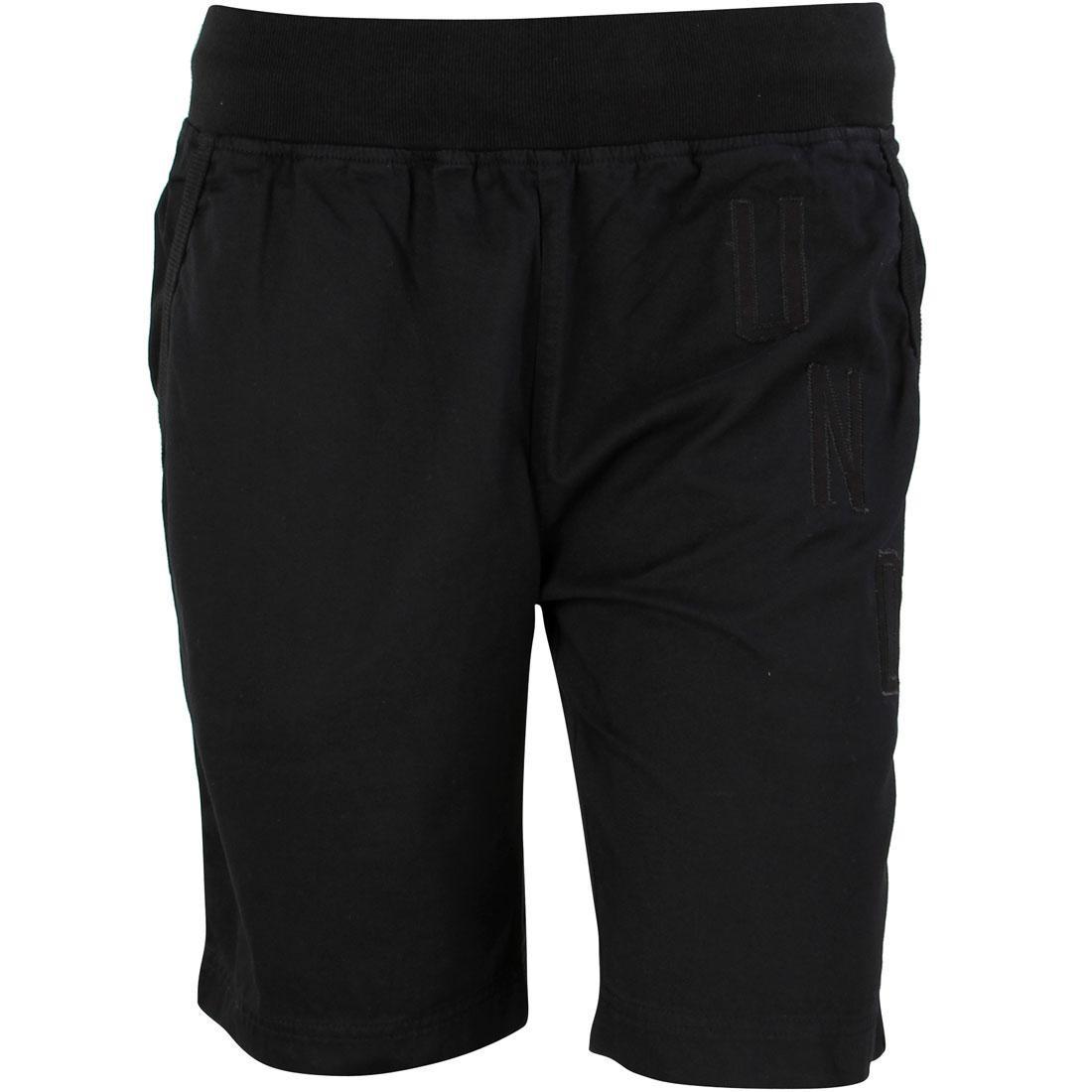 UNDEFEATED ショーツ ハーフパンツ 黒 ブラック 【 BLACK UNDEFEATED MEN EXILE SHORTS 】 メンズファッション ズボン パンツ