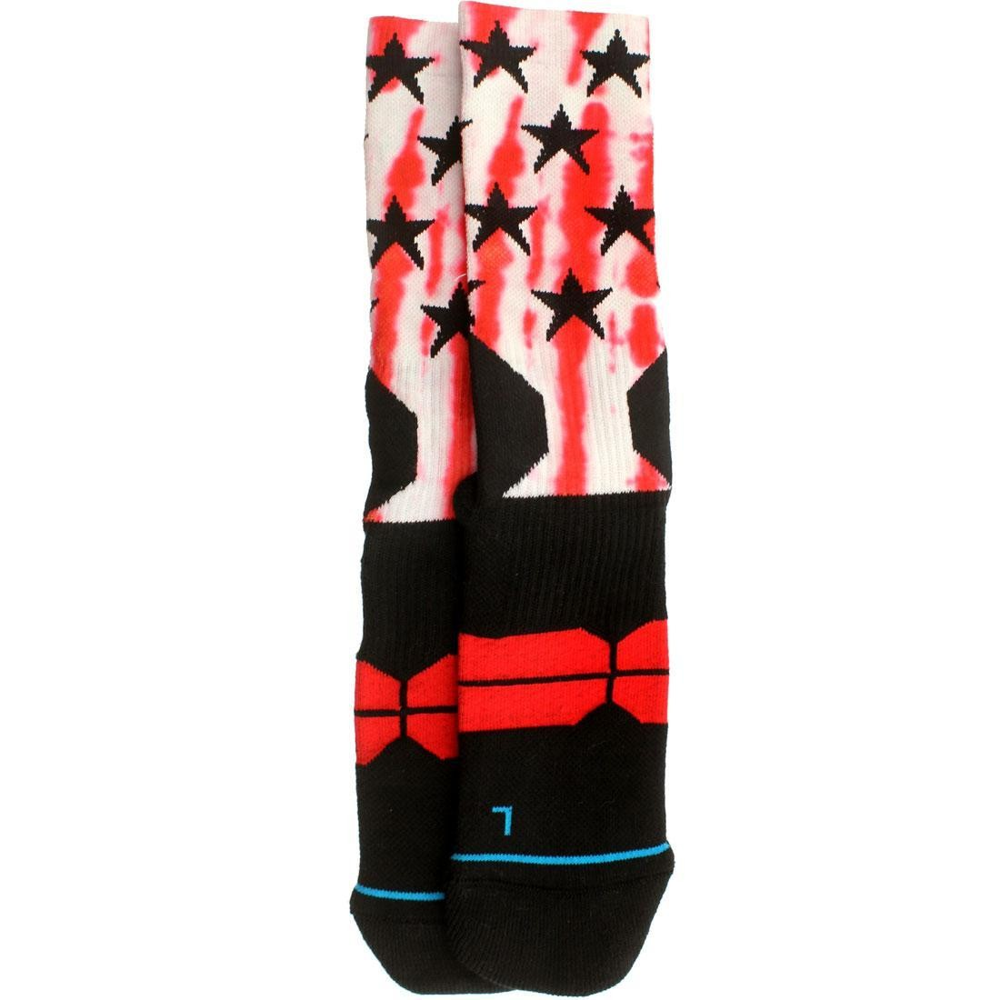 スタンス STANCE ソックス 靴下 インナー 下着 ナイトウエア メンズ 下 レッグ 【 X Nba All Star 2015 West Socks (red) 】 Red