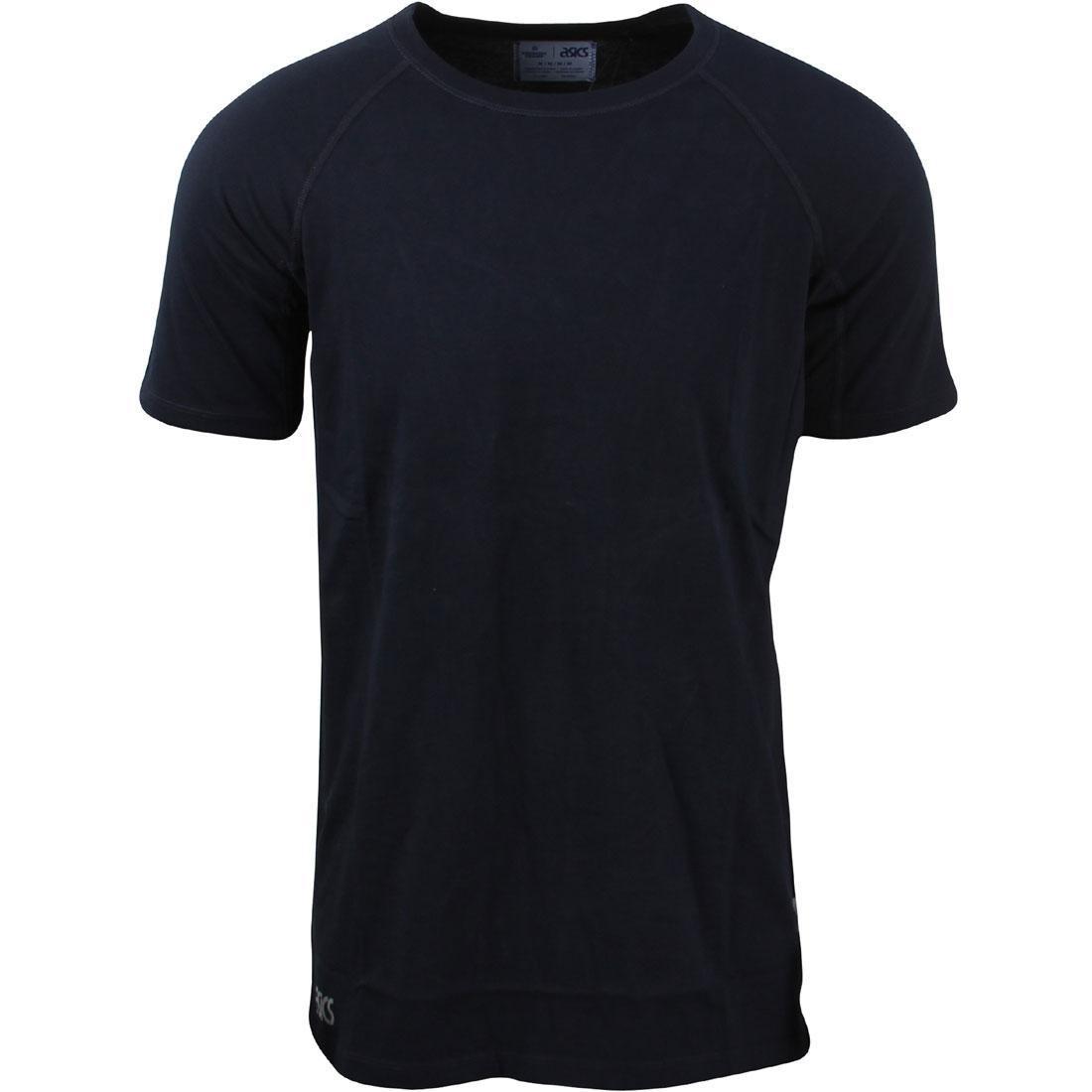 アシックスタイガー ASICS TIGER アシックス Tシャツ 紺 ネイビー 【 ASICS NAVY TIGER X REIGNING CHAMP MEN TEE 】 メンズファッション トップス Tシャツ カットソー