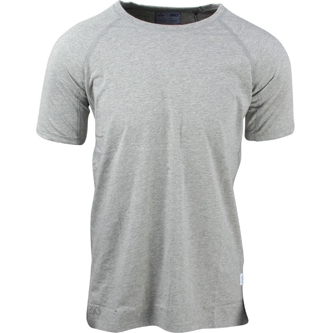 アシックスタイガー ASICS TIGER Tシャツ ヘザー メンズファッション トップス カットソー メンズ 【 X Reigning Champ Men Tee (grey / Heather Grey) 】 Grey / Heather Grey