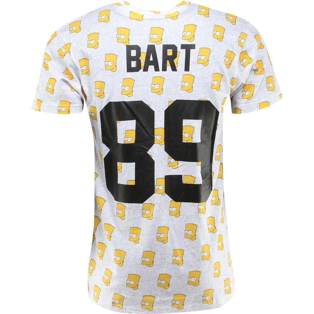Tシャツ メンズファッション トップス カットソー メンズ 【 Eleven Paris X The Simpsons Hart M Tee (white / Olhart Print) 】 White / Olhart Print