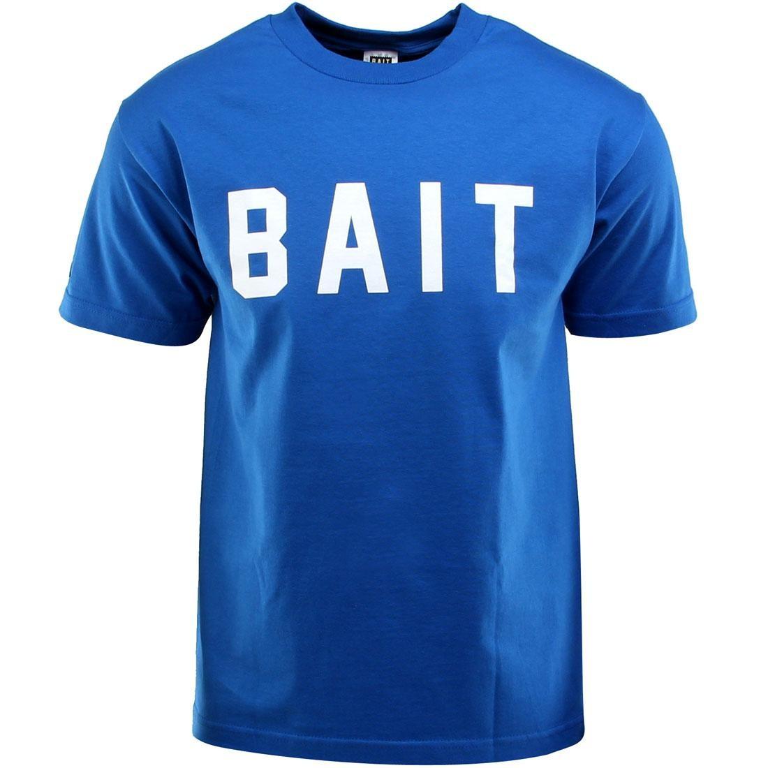 ベイト BAIT ロゴ Tシャツ 青 ブルー メンズファッション トップス カットソー メンズ 【 Logo Tee (blue / Royal Blue / White) 】 Blue / Royal Blue / White