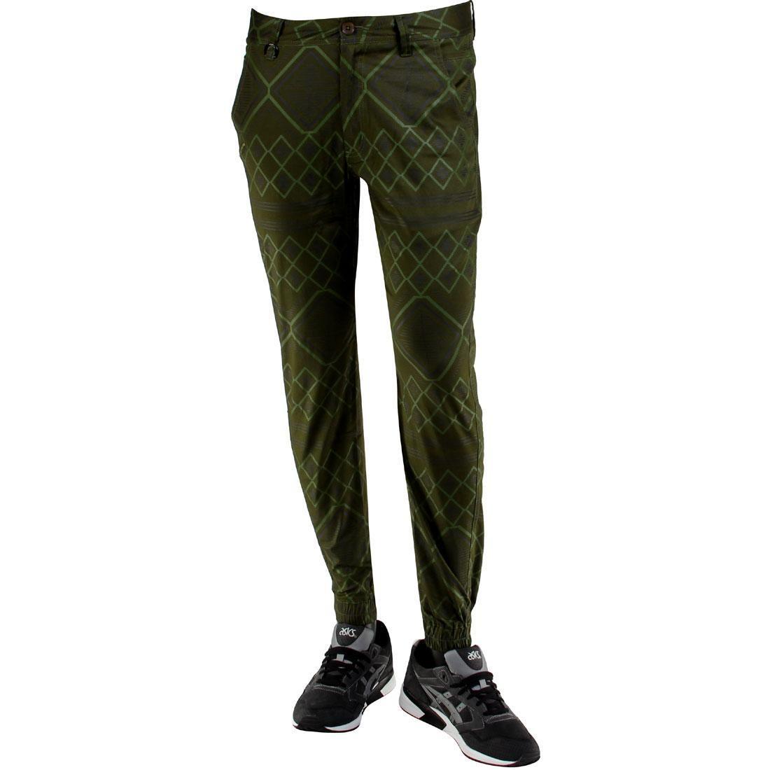 【海外限定】パブリッシュ ズボン メンズファッション 【 PUBLISH PITKIN NAVAJO INSPIRED PRINT JOGGER PANTS OLIVE 】