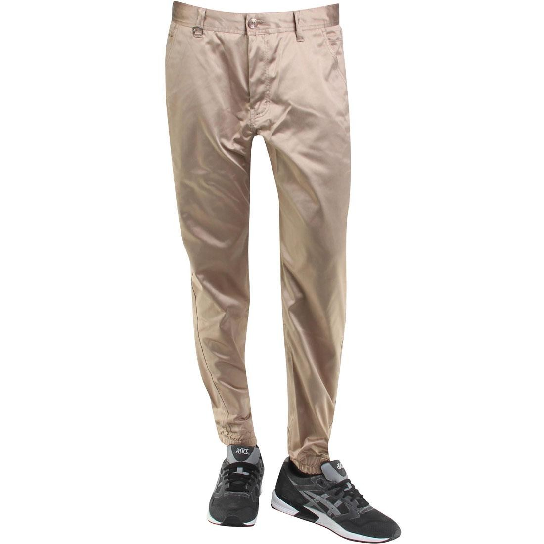 【海外限定】パブリッシュ サテン ズボン メンズファッション 【 PUBLISH LANDIS SATIN TWILL JOGGER PANTS TAN 】