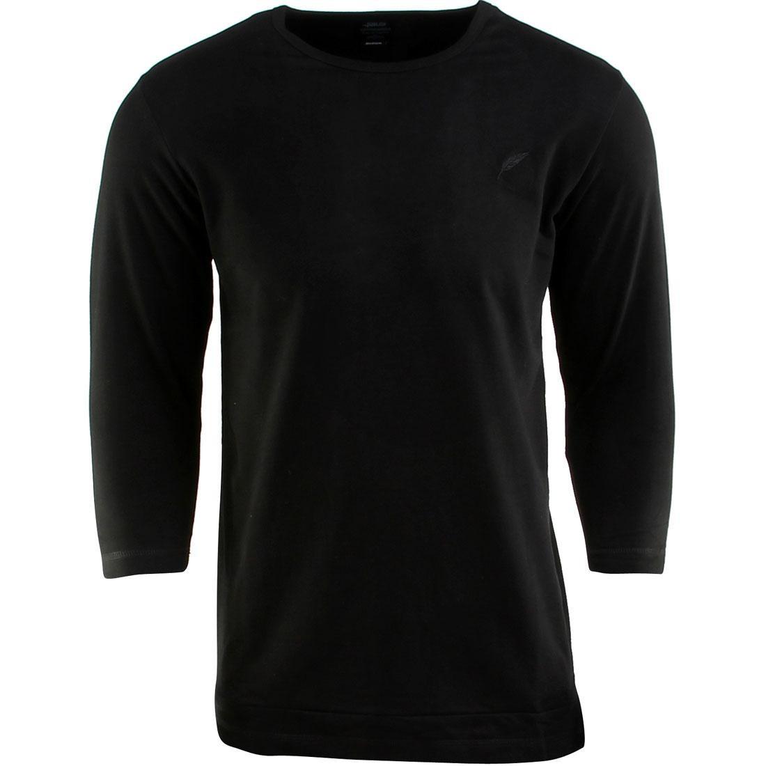 パブリッシュ スリーブ Tシャツ メンズファッション トップス カットソー メンズ 【 Publish Everit French Terry 3/4 Sleeve Tee (black) 】 Black