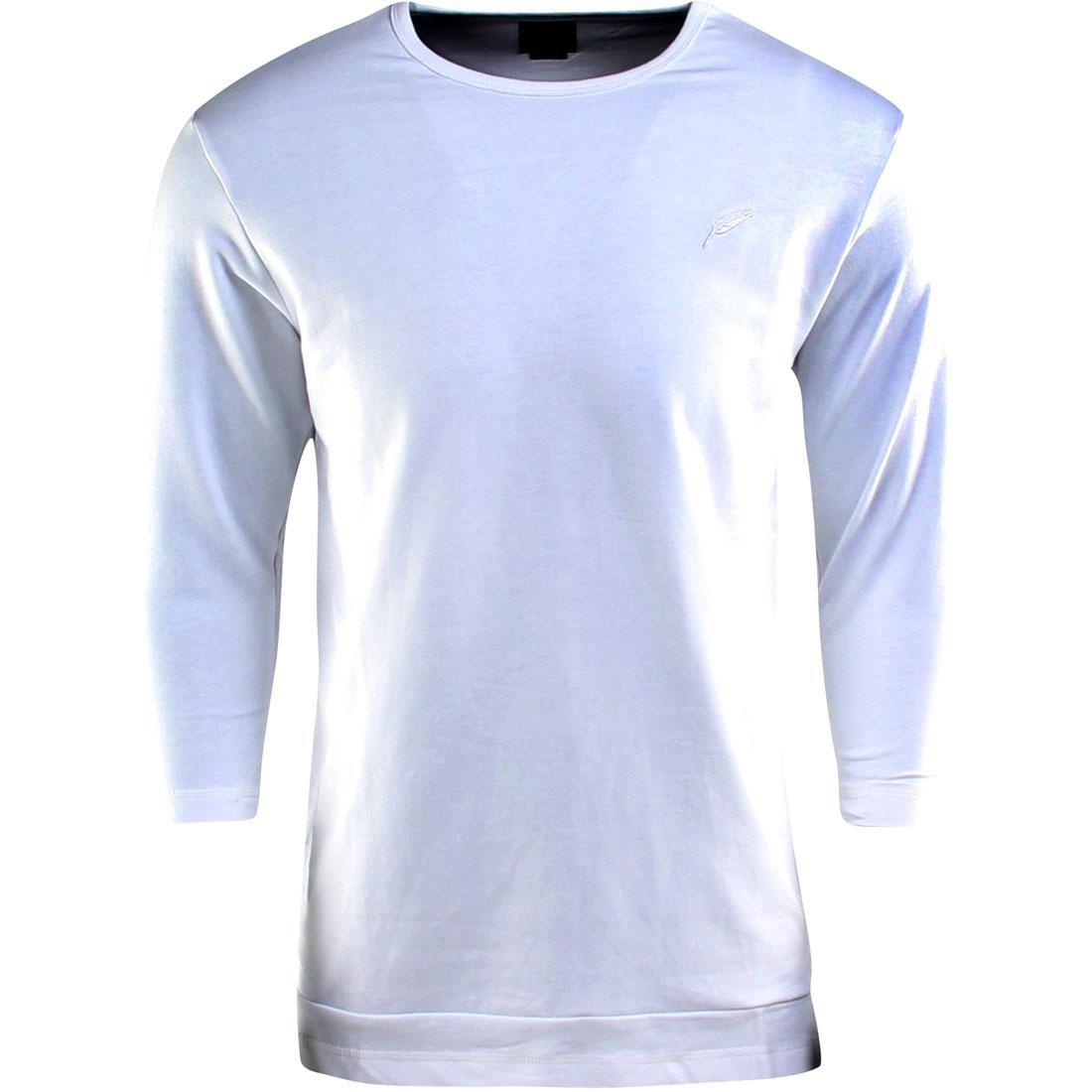 【海外限定】パブリッシュ スリーブ Tシャツ TEE カットソー メンズファッション Tシャツ【【 SLEEVE PUBLISH EVERIT FRENCH TERRY 3 4 TEE WHITE】, ラグ&カーペットのコレクション:d0abeee2 --- officewill.xsrv.jp