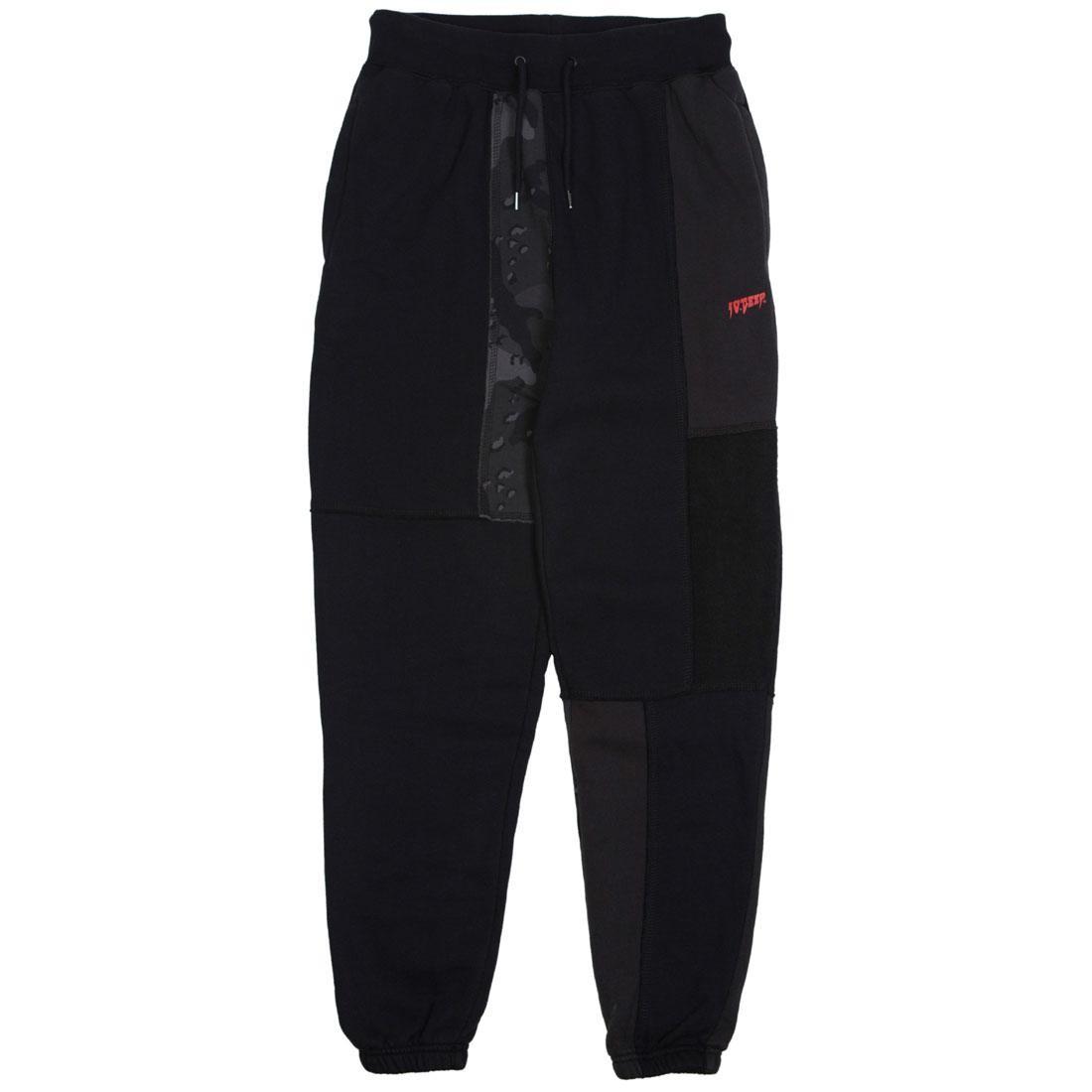 ディープ 【 10 DEEP MEN UNIFICATION SWEATPANTS BLACK 】 メンズファッション ズボン パンツ 送料無料