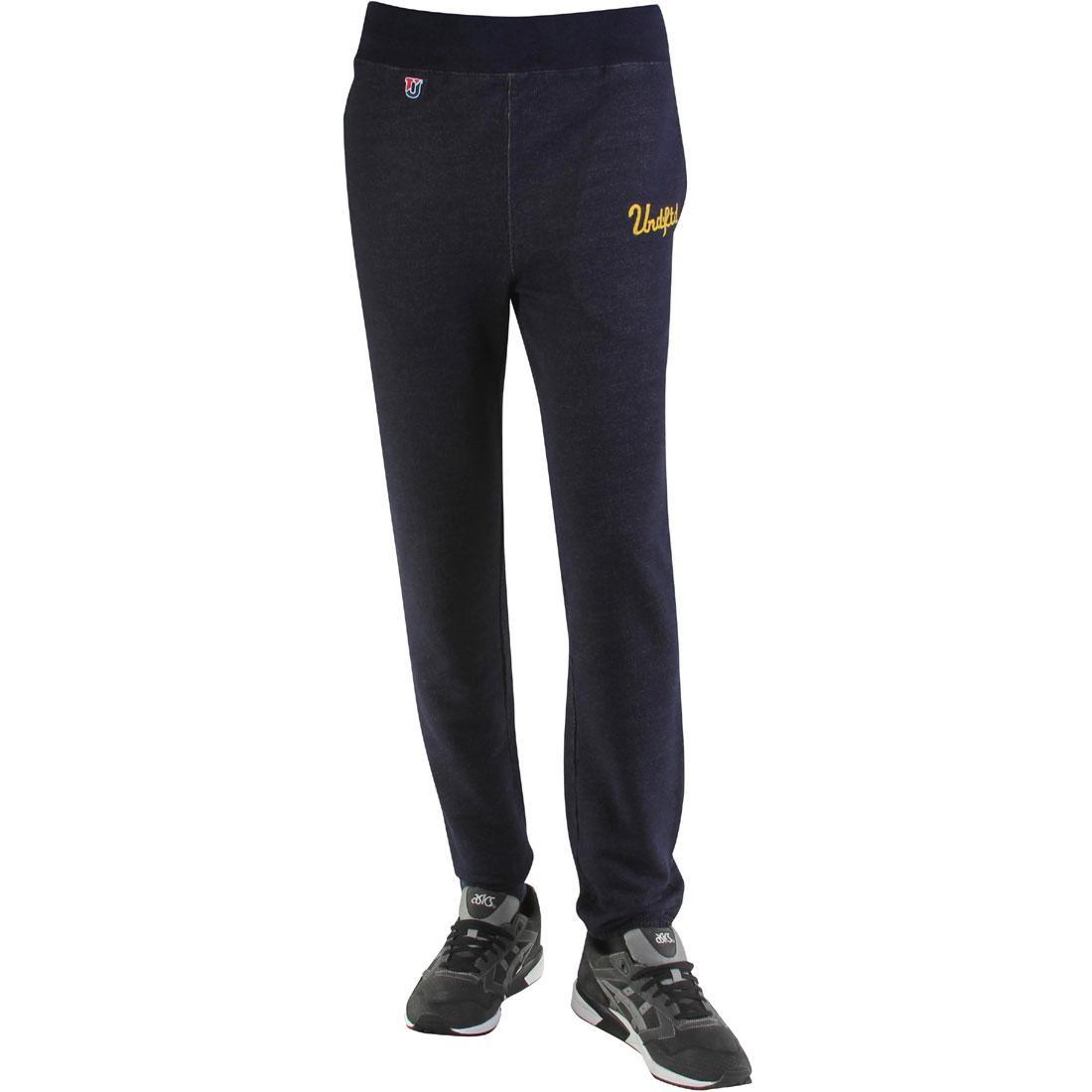 UNDEFEATED 紺 ネイビー 藍色 インディゴ 【 NAVY UNDEFEATED CHAIN SWEATPANTS INDIGO 】 メンズファッション ズボン パンツ