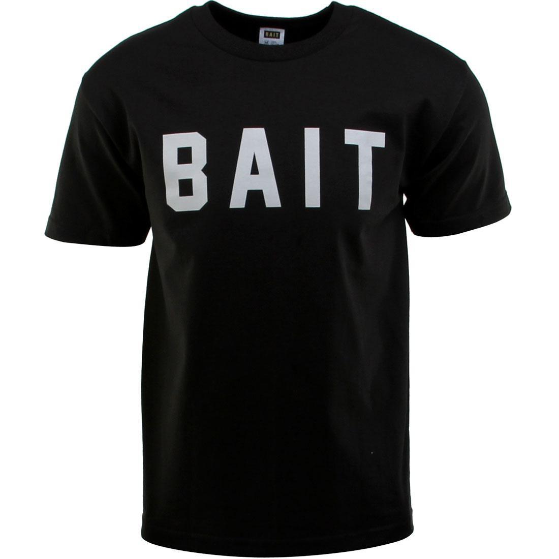 ベイト BAIT ロゴ Tシャツ 黒 ブラック 灰色 グレー グレイ 【 BLACK GRAY BAIT LOGO TEE 】 メンズファッション トップス Tシャツ カットソー