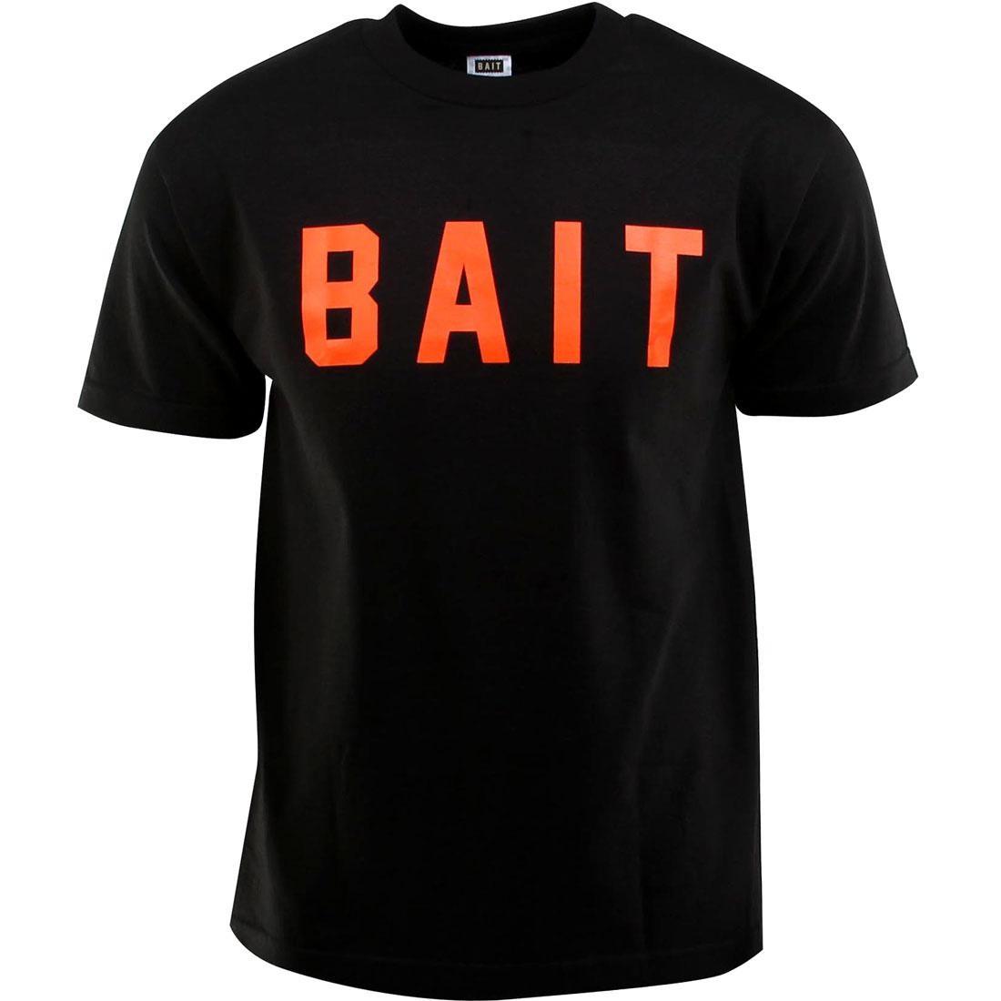 ベイト BAIT ロゴ Tシャツ メンズファッション トップス カットソー メンズ 【 Logo Tee (black / Orange) 】 Black / Orange