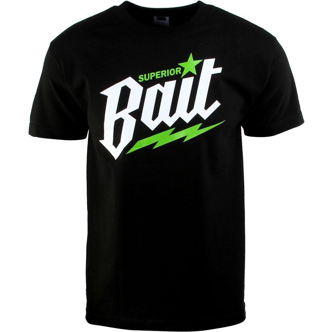 ベイト BAIT Tシャツ 白 ホワイト メンズファッション トップス カットソー メンズ 【 Superior Tee (black / White / Green) 】 Black / White / Green