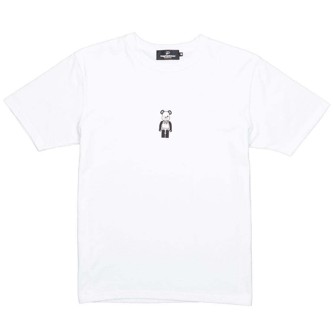 Tシャツ Be@rtee メンズファッション トップス カットソー メンズ 【 Medicom X Freemasonry X Fragment Design Men Be@rtee Tee (white) 】 White
