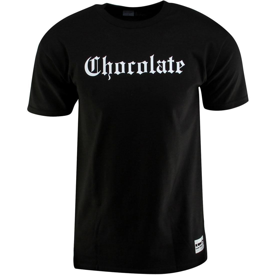 Tシャツ 黒 ブラック 【 BLACK GIRL SKATEBOARD CHOCOLATE EAZY C TEE 】 メンズファッション トップス Tシャツ カットソー