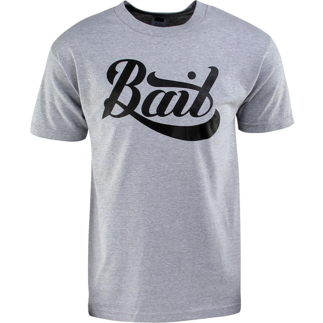 ベイト BAIT スクリプト ロゴ Tシャツ メンズファッション トップス カットソー メンズ 【 Script Logo Tee (heather Grey) 】 Heather Grey
