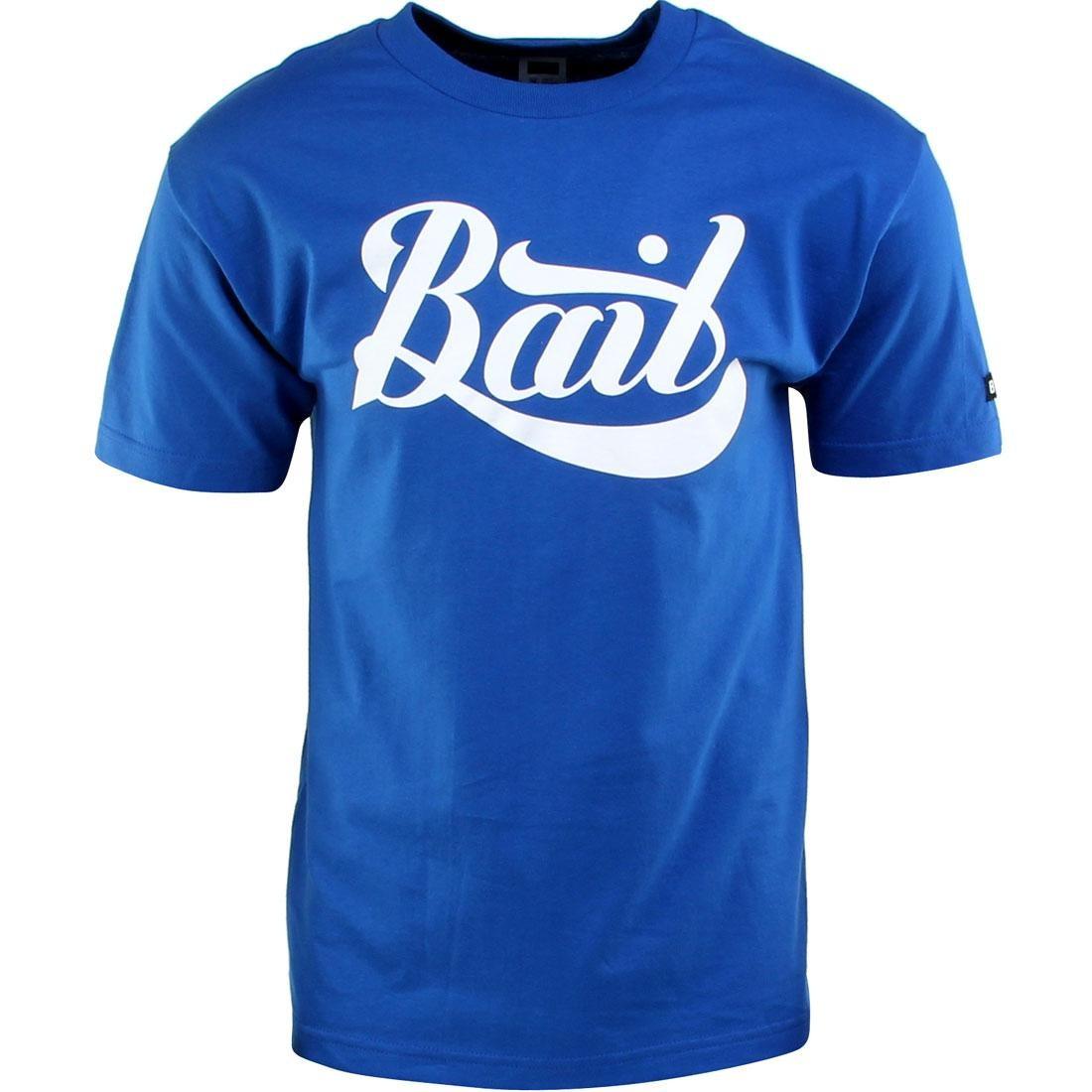 ベイト BAIT スクリプト ロゴ Tシャツ 青 ブルー 【 BLUE BAIT SCRIPT LOGO TEE ROYAL 】 メンズファッション トップス Tシャツ カットソー