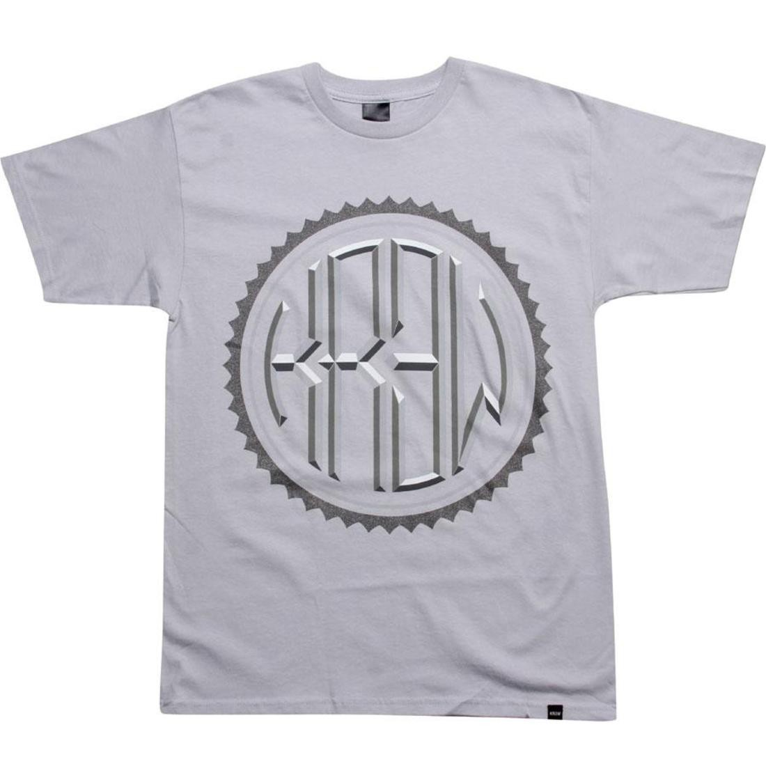 Tシャツ 【 KR3W ROUNDER TEE SILVER 】 メンズファッション トップス カットソー 送料無料