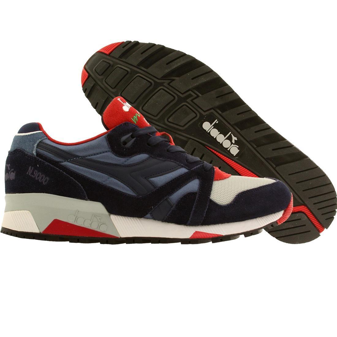 【海外限定】スニーカー 靴 【 DIADORA MEN N9000 NYL BLUE COLONEL 】