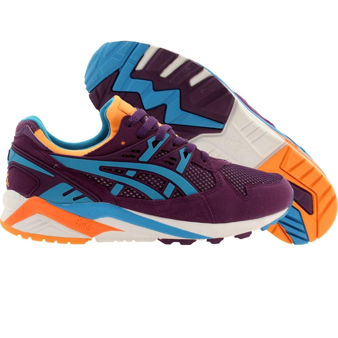 【海外限定】アシックス トレーナー 靴 メンズ靴 【 ASICS TIGER MEN GELKAYANO TRAINER FLASH PACK PURPLE ATOMIC 】