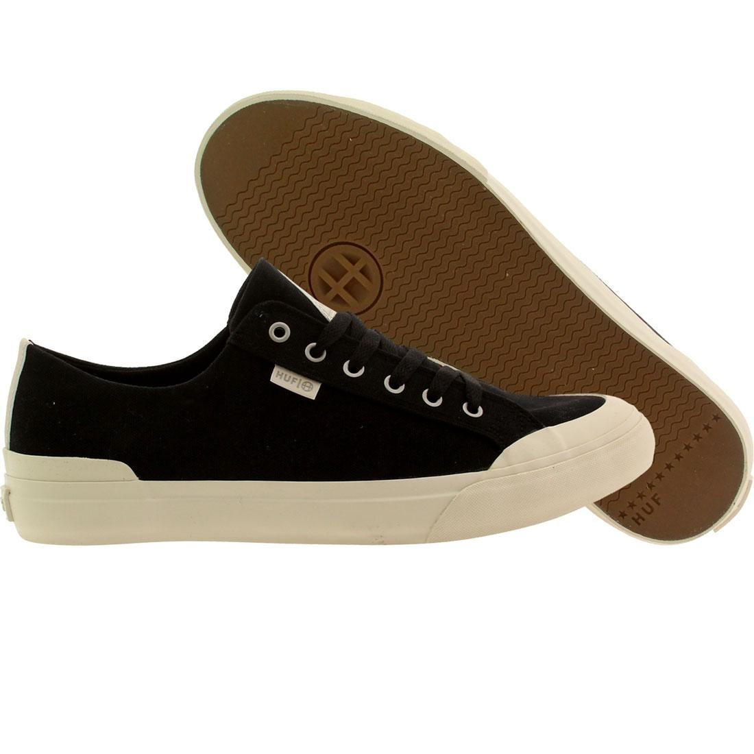 【海外限定】ハフ クラシック 靴 メンズ靴 【 HUF MEN CLASSIC LO CANVAS BLACK 】