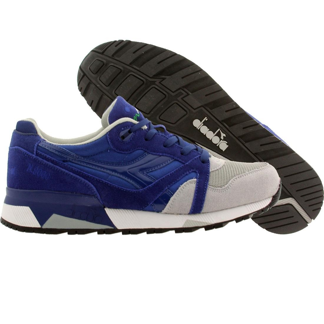 【海外限定】靴 スニーカー 【 DIADORA MEN N9000 NYL BLUE LIMONGES ALASKA GRAY 】