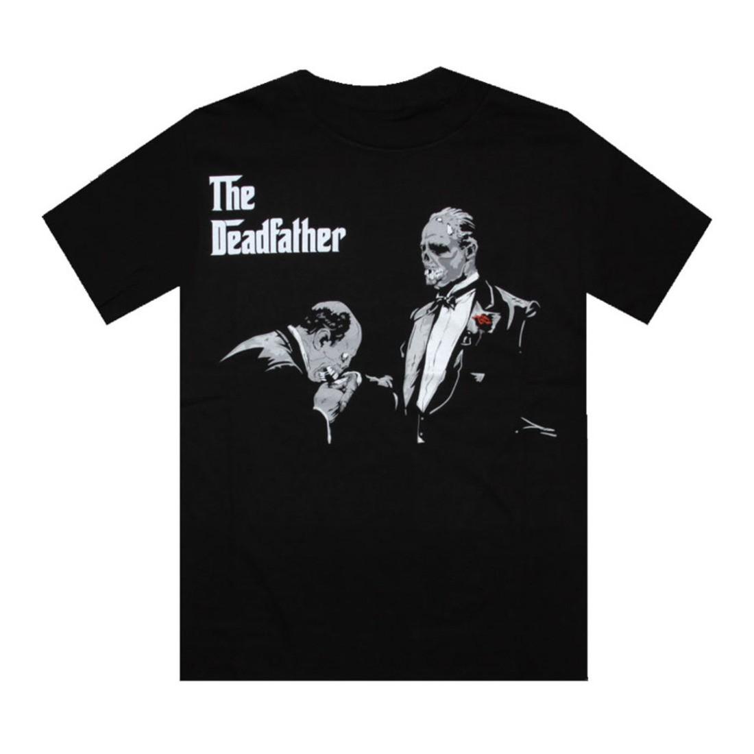 【海外限定】Tシャツ トップス 【 SSUR THE DEADFATHER TEE BLACK 】【送料無料】