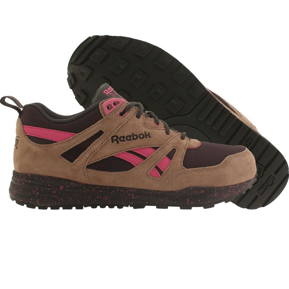 【海外限定】リーボック ナイト 紫 バイオレット メンズ靴 靴 【 REEBOK MEN VENTILATOR EXP BROWN TAUPE NIGHT VIOLET GRAVEL CHARGED PINK 】