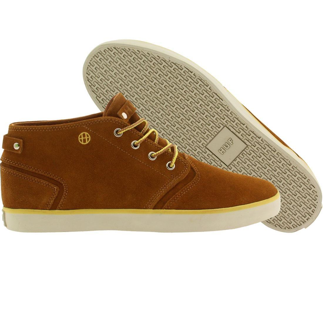 【海外限定】ハフ メンズ靴 靴 【 HUF MEN MERCER BROWN CHESTNUT 】