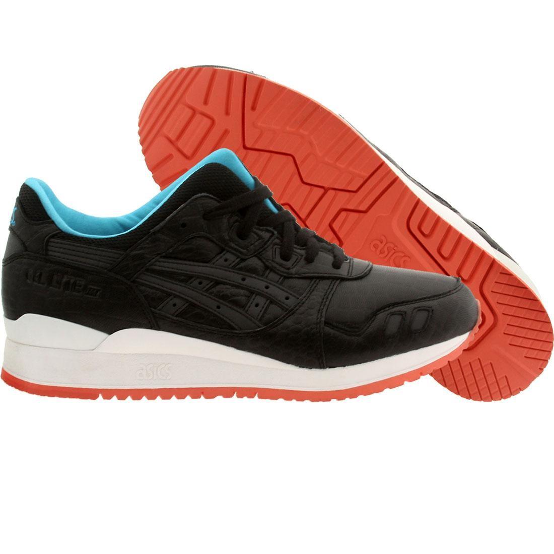 【海外限定】アシックス マイアミ 靴 メンズ靴 【 ASICS TIGER MEN GELLYTE III MIAMI VICE BLACK 】